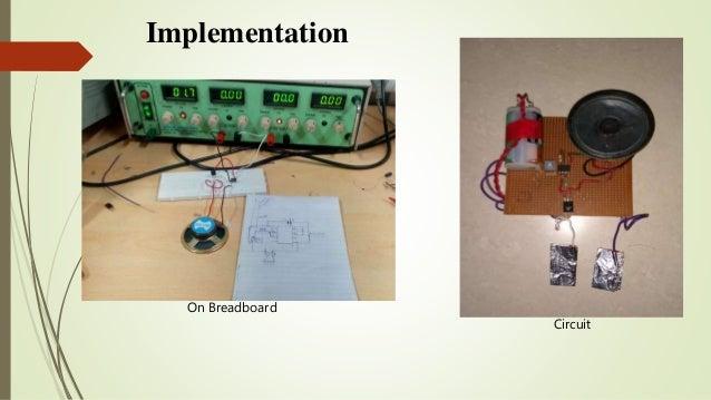 Electronic Bicycle Lock Mini Project Analog Electronics