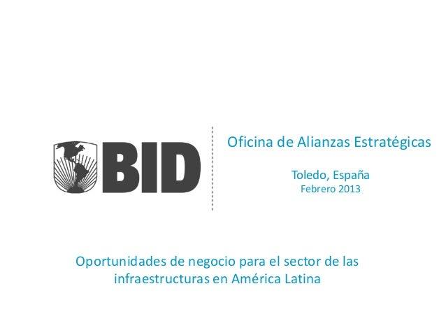 Oficina de Alianzas Estratégicas                                   Toledo, España                                    Febre...