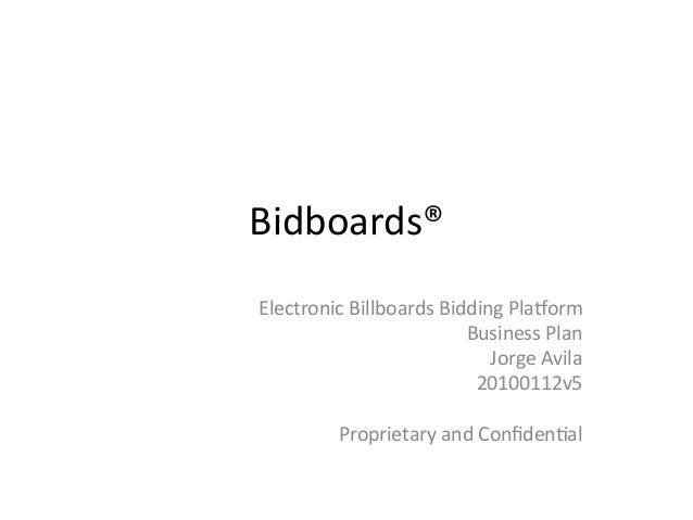 Electronics business plan