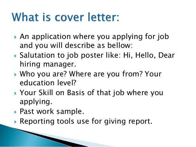 How to submit cover letter on upwork freelancer 2 an application spiritdancerdesigns Choice Image