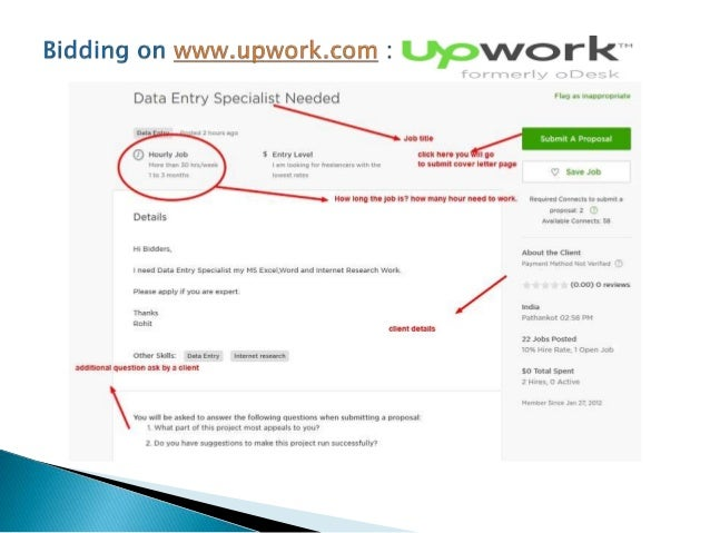 how to submit cover letter on upwork com freelancer com