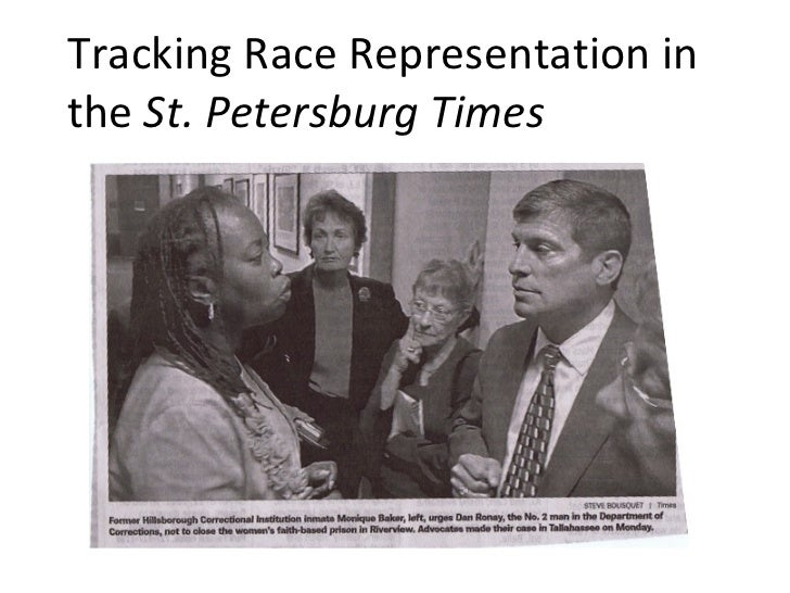Tracking Race Representation in the  St. Petersburg Times