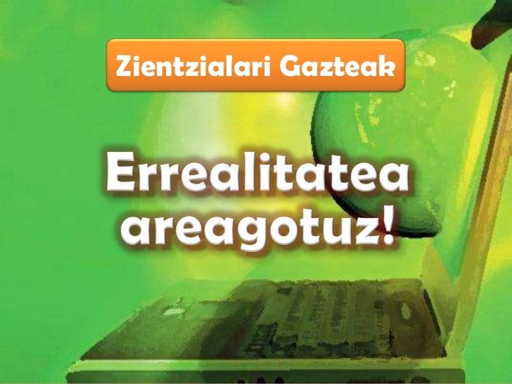 Zientzialari Gazteak