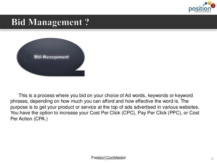 Bid management ppt