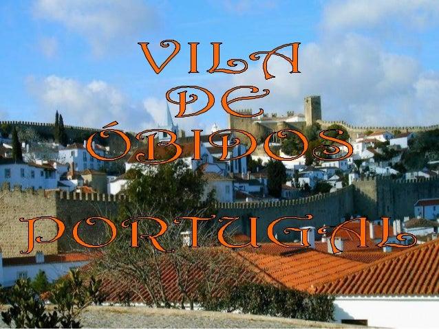 A vila de Óbidos fica no distrito de Leiria e faz parte da Região de Turismo do Oeste. Esta vila guarda séculos de históri...