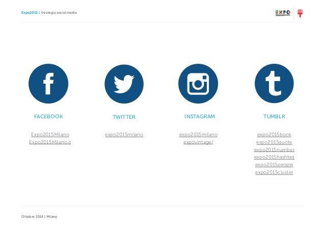Expo2015   Strategia social media Ottobre 2014   Milano Expo2015Milano Expo2015Milano.it expo2015milano expo2015milano exp...