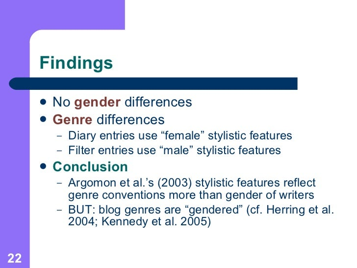 gender differences in computer mediated communications essay Although research on computer-mediated communication (cmc) dates back to  the early days of the technology in the 1970's, researchers have only recently.