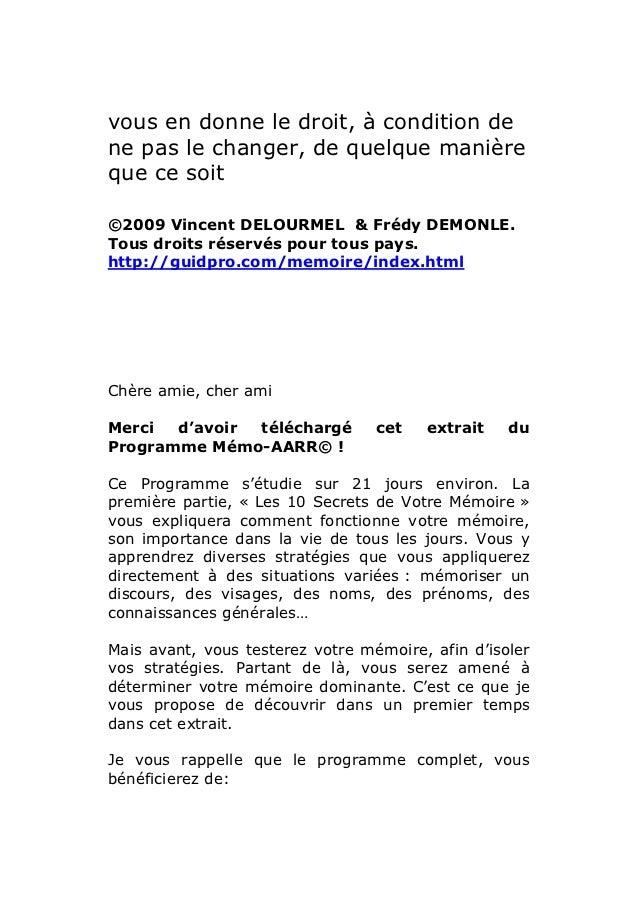 vous en donne le droit, à condition dene pas le changer, de quelque manièreque ce soit©2009 Vincent DELOURMEL & Frédy DEMO...