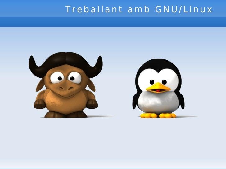 Treballant amb GNU/Linux