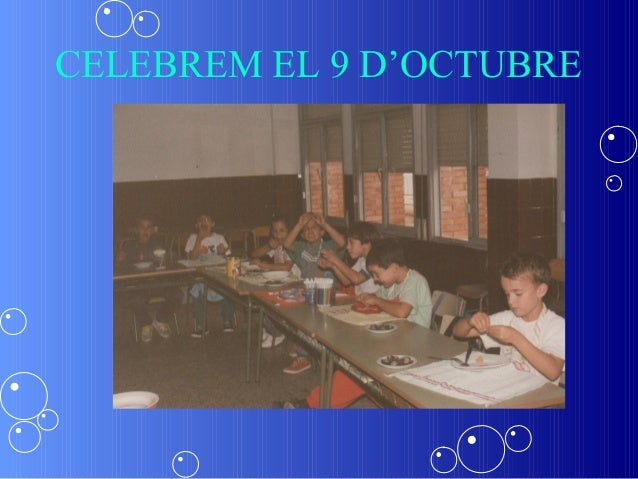 CELEBREM EL 9 D'OCTUBRE