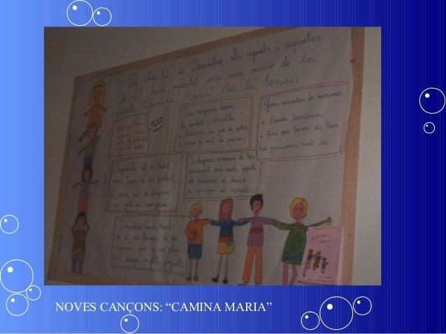 """NOVES CANÇONS: """"CAMINA MARIA"""""""
