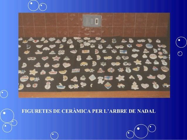 FIGURETES DE CERÀMICA PER L'ARBRE DE NADAL