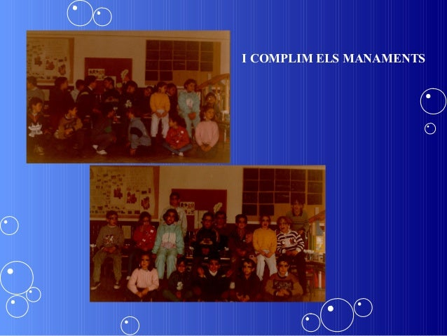 I COMPLIM ELS MANAMENTS