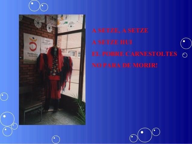 A SETZE, A SETZEA SETZE HUIEL POBRE CARNESTOLTESNO PARA DE MORIR!