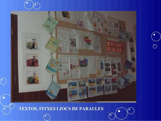 TEXTOS, FITXES I JOCS DE PARAULES