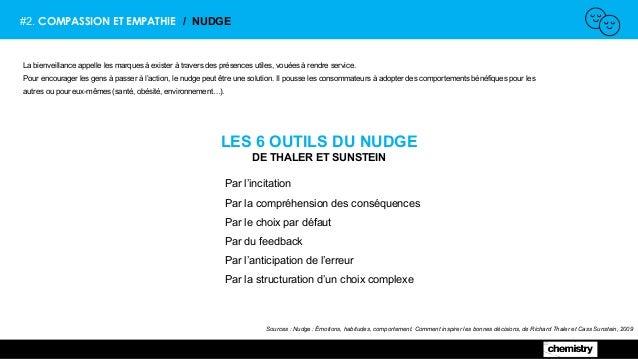 #2. COMPASSION ET EMPATHIE / NUDGE LES 6 OUTILS DU NUDGE DE THALER ET SUNSTEIN Sources : Nudge : Émotions, habitudes, comp...