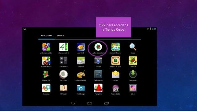 TIENDA CEIBAL  Clickpara buscar aplicaciones por nombre.