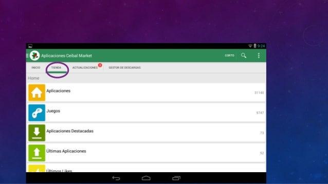 Clicka las aplicaciones que puede acceder el alumno desde el Modo Niño.