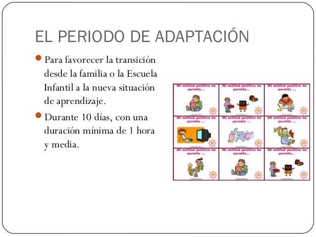 Bienvenida familias de alumnos ei 3 a os for Adaptacion jardin infantil