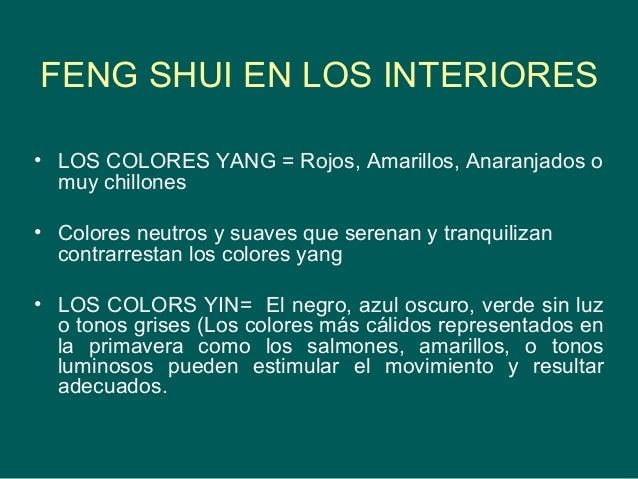 Bienvenidos for Colores para casa segun feng shui