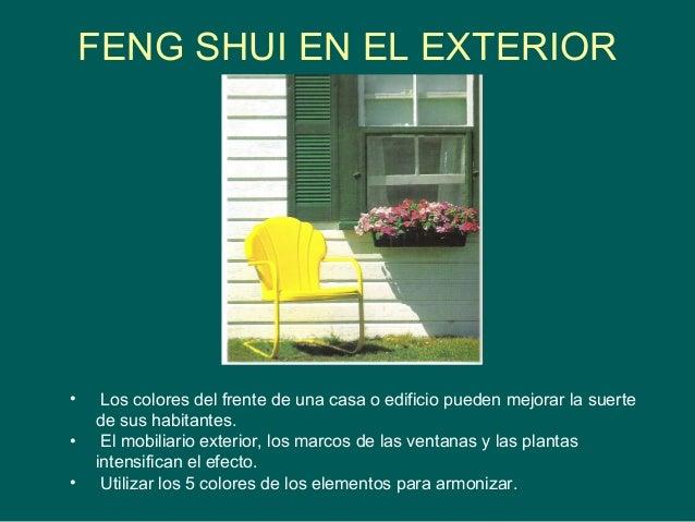 Bienvenidos Colores feng shui 2016