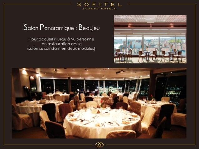Restaurant Panoramique Sofitel Lyon