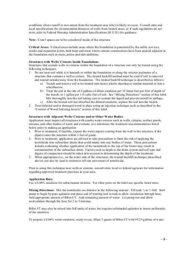 Bifen It Insecticidetermiticide