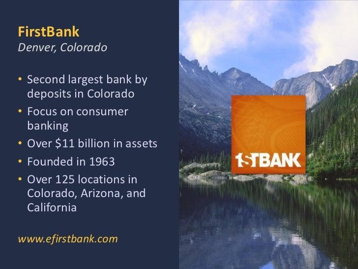 Fist bank colorado