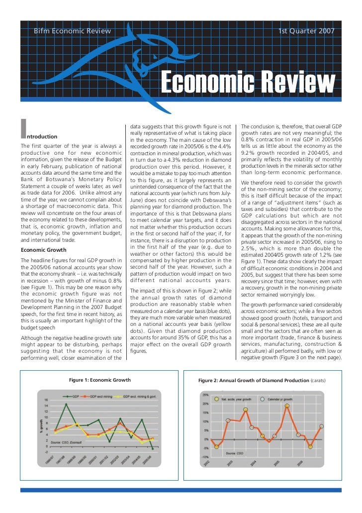 Bifm Economic Review                                                                                             1st Quart...