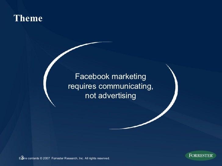 Big Brands & Facebook: Demographics, Case Studies & Best Practices Slide 3