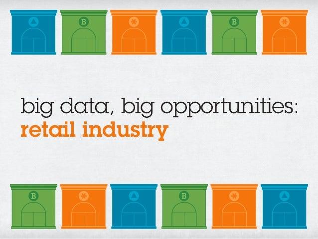 big data, big opportunities:retail industry
