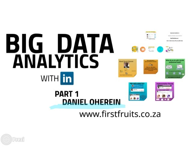 How to become Big Data Analytics with LinkedIn - by Daniel ...
