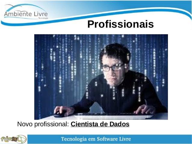 Profissionais Novo profissional: Cientista de Dados