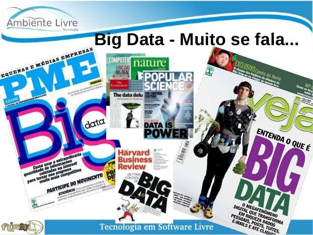 Big Data - Muito se fala...