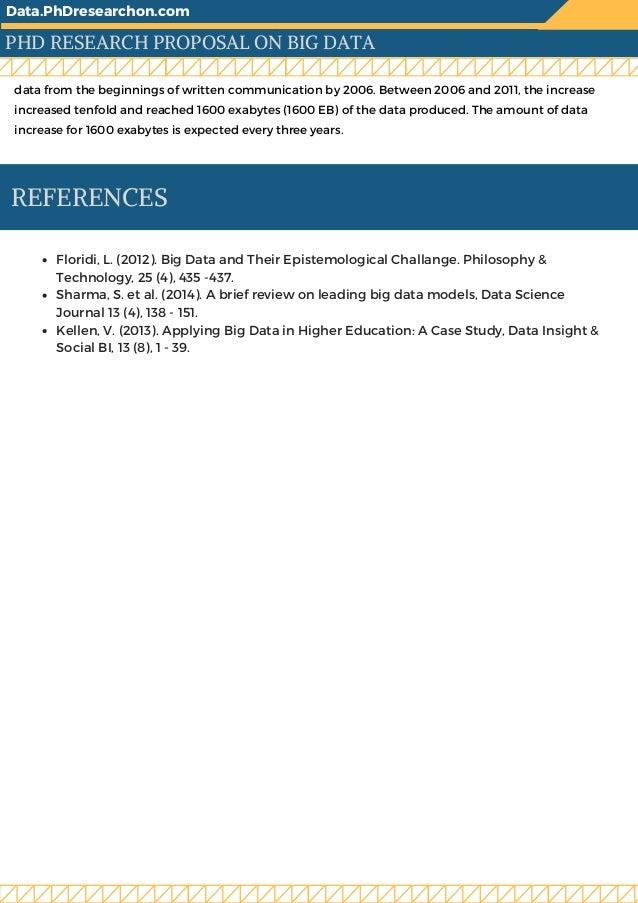 Phd research proposal statistics