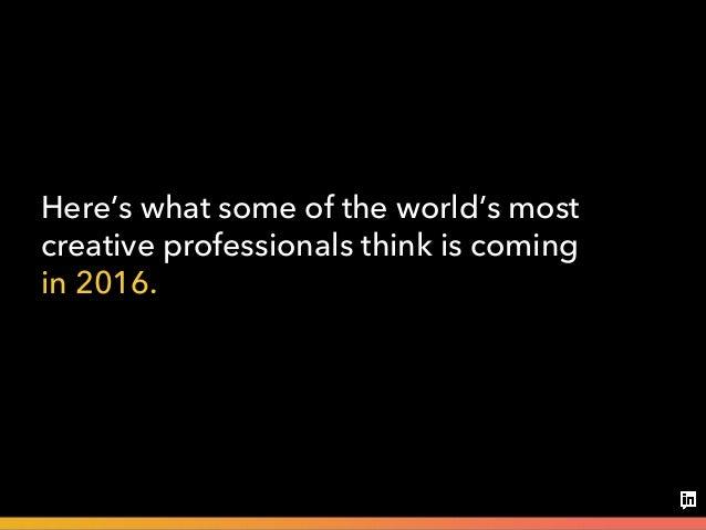 Big ideas 2016 Slide 3