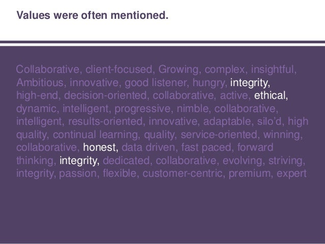 No surprises … until we segmented responses by firm size.