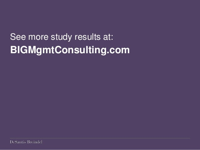 What Is the Role of Brand in Management Consulting? Research Highlights from Industry Study