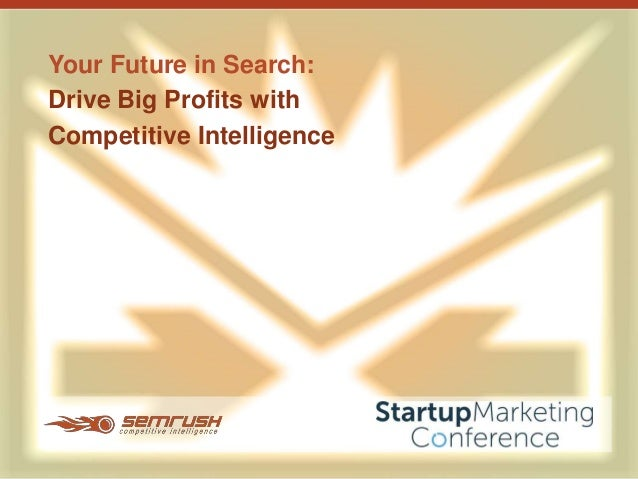 Technology Management Image: Drive Big Profits With Competitive Intelligence