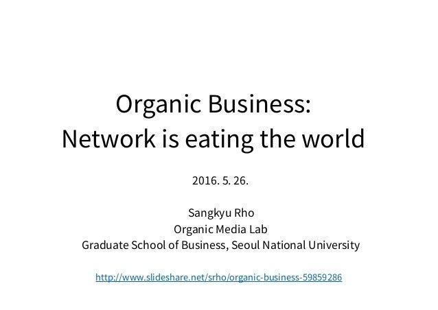 (CC BY-SA 3.0) Sangkyu Rho, SNU Business School 2