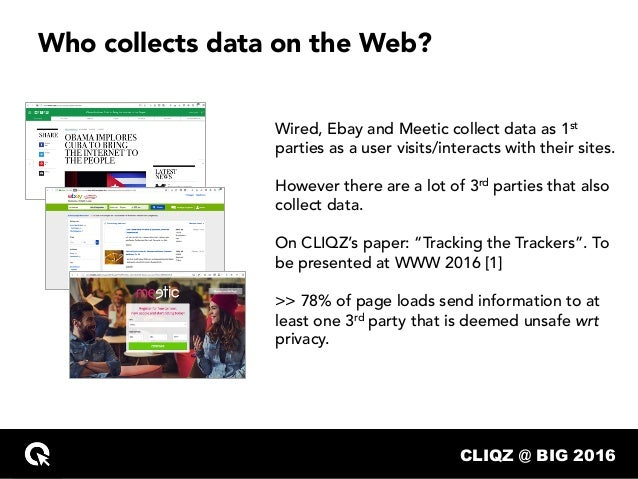 Data Collection without Privacy Side Effects Slide 3