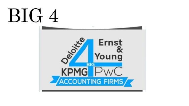 Big four account firms - Dubbed deutsch