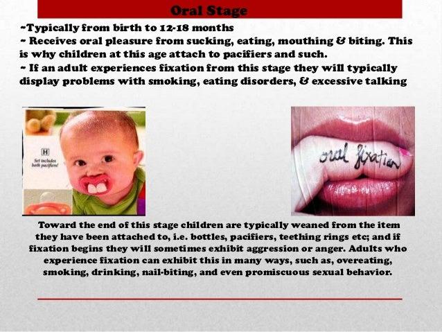 Freud S Oral Fixation