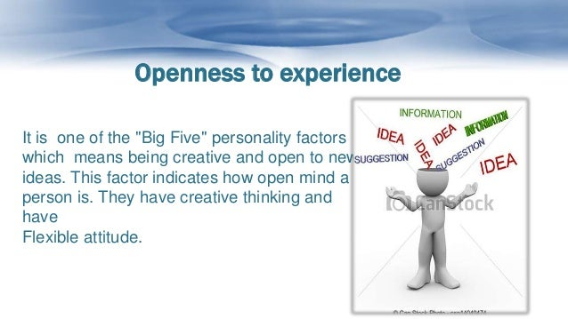 Openness to experience big five