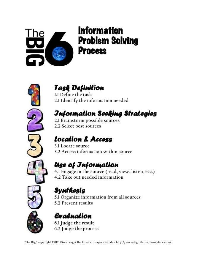 Information                                      Problem Solving                                      Process             ...