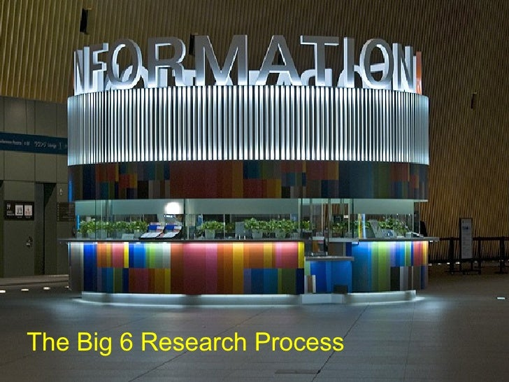 The Big 6 Research Process
