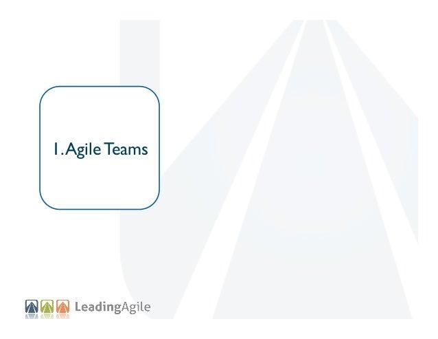 1. Agile Teams