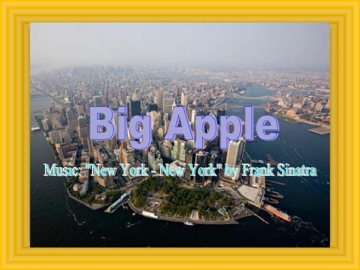 "Big Apple Music: ""New York - New York"" by Frank Sinatra"