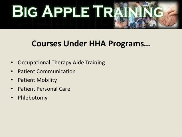 Home Health Aide Training Bronx