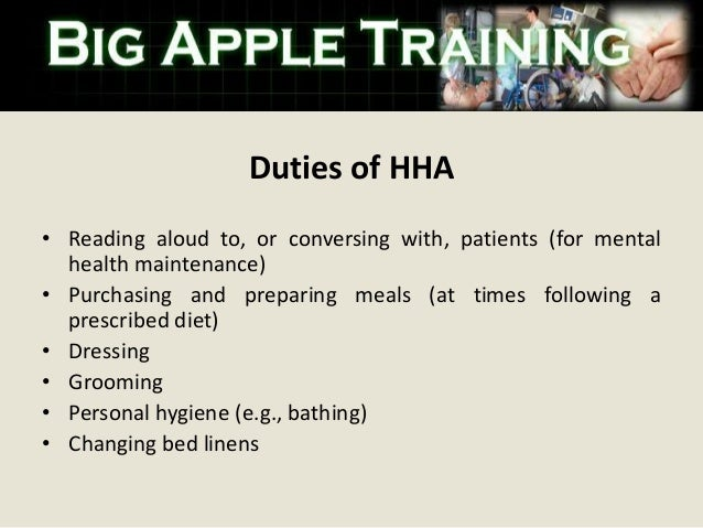 Home Health Aide Training In Bronx New York
